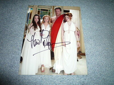 BRIAN THOMPSON signed Autogramm 20x25 cm In Person CHARMED Cronos
