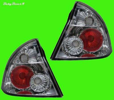 Holden Commodore VY  Chrome Altezza Clear Rear Tail Lights Lamps Right Left Side
