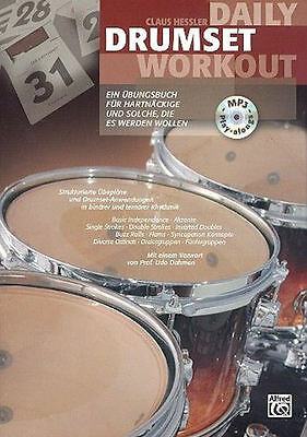 Daily Drumset Workout (+MP3-CD) + 1 Bleistift mit Musikmotiv