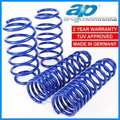 Audi A4 8E Saloon 00+ 1.6 1.8T 2.0Tfsi Ap 40/30 Lowering Springs Suspension Kit