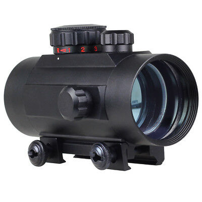 Holographic Tactical Laser Red / Green Dot Sight Scope W/ Picatinny Rail Mount