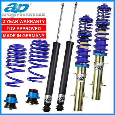 Renault Clio 05-10 1.2 1.4 1.6 2.0 Ap Coilovers 40-70Mm Lowering Suspension Kit