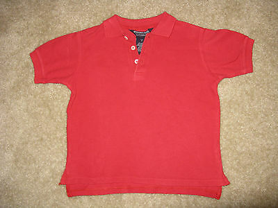 Unisex Boys/Girls FRENCH TOAST Red School Uniform S/S Shirt, Sz. 6