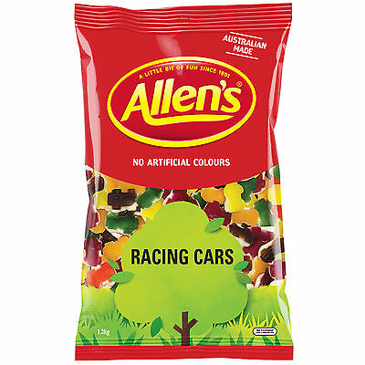 Allens Racing Cars 1.3kg bulk lollies