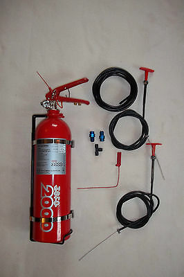LIFELINE FIRE EXTINGUISHER KIT- Rally/stage rally/motorsport/trackday