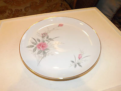 Golden Rose China of Japan Dinner Plate 10 1/4 Inch