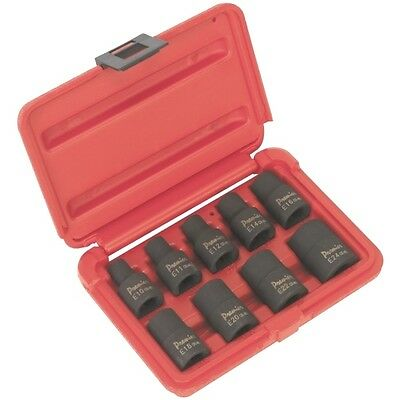 Air Impact Torx Star Socket Set 1/2 Drive  E10 E11 E12 E14 E16 E18 E20 E22 E24