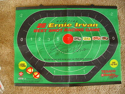VINTAGE NASCAR #28 ERNIE IRVAN BEST SHOT RACING GAME NIP. GREAT FOR TAILGATING