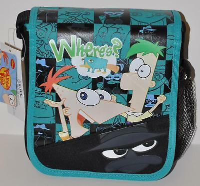 PHINEAS AND FERB LUNCH BAG LUNCH BOX TOTE PURSE BAG WOW