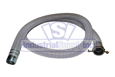 "2"" x 20 ft Flexible Mud Trash Pump Water Suction Hose"