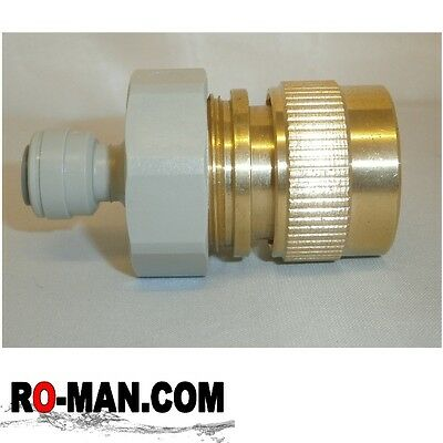 Female Quick Release Hose Connector - Reverse Osmosis and Water Filtration