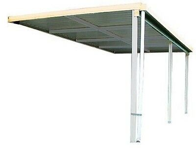 Absco Patio Verandah Awning Cover 6m x 3m Colorbond or Zincalume AWN63