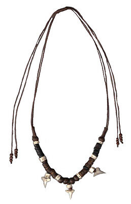 Lucky Real Sharks Tooth Necklace - Uni Sex / Adjustable