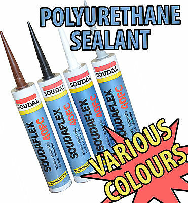 SOUDAL HIGH STRENGHT POLYURETHANE ADHESIVE & SEALANT KOI FISH POND CARAVAN 310ml