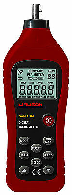 Dawson DAM110A Contact Type Digital Tachometer Tester