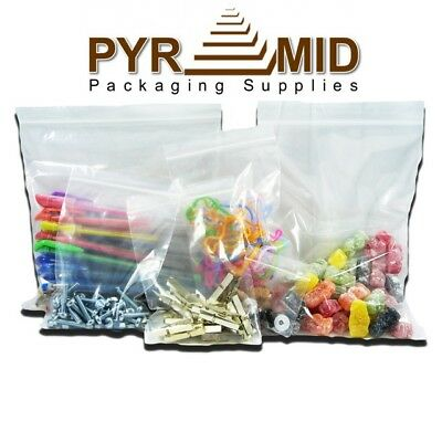 Clear Polythene Grip Seal Resealable Plastic Bags