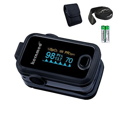 Kernmed OLED Finger Pulsoximeter A310 mit Farbwahl + Alarm + Pulston Oxymeter