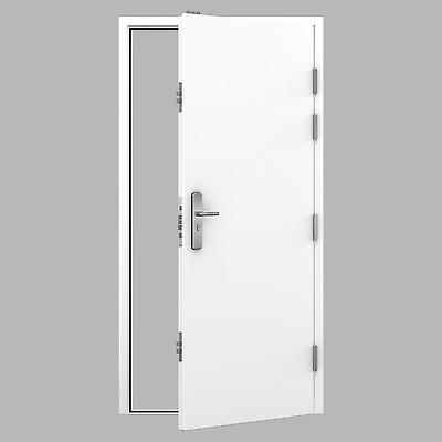 Gun Room Door / Safe Room Door - High Security Steel Door with 15 Locking Points