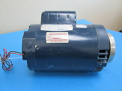 LEESON A6C34DC34A 1.5 HP Type CD Electric Motor