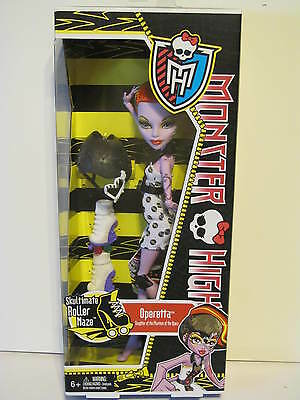 Monster High Skultimate Roller Maze Operetta New Release  HTF  New in Box