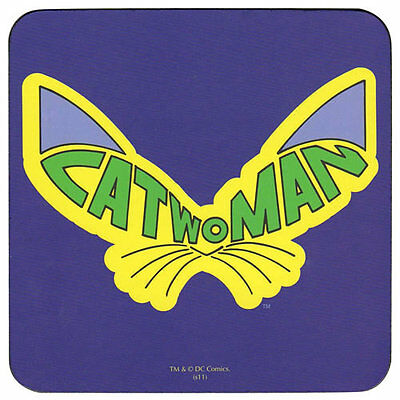 Catwoman Logo Coaster Official DC Comics Batman