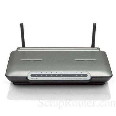 Belkin Wireless G+ MIMO Modem Router(F5D9630DE4B) for ADSL Connections