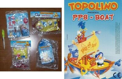 DISNEY Gadget Topolino NAVE PP8 PAPERINO PAPEROTTO Boat Young Donald Duck RARE