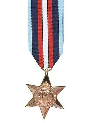 Official ARCTIC STAR Miniature Medal and Ribbon (first to get them !! WW2 Medal