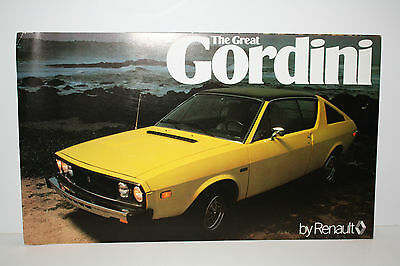 1977 Renault The Great Gordini- English Text