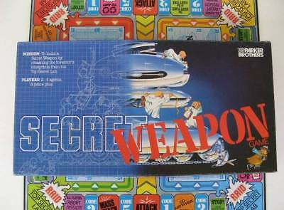 Vintage Parker Brothers Secret Weapon Board Game - 1984