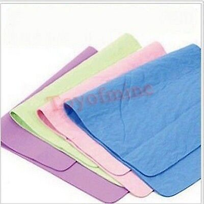 4 colors Synthetic Chamois Pet Groomer's Best Super Absorbent Drying Towel