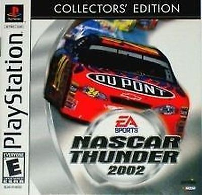 Nascar Thunder 2002 Collector's Edition Brand NEW Playstation 1 one