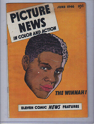 Picture News Comic 1946 Vol 1 No 6  THE WINNAH! JOE LOUIS - Very Rare!!!