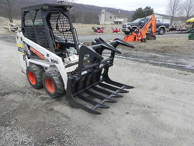NEW CID Xtreme Root Grapple For Bobcat MT50 MT52 MT55 463 S70 Mini Skid Steer !!
