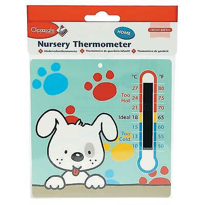 Clippasafe Nursery/Bedroom/Room Thermometer - Baby/Toddler/Child