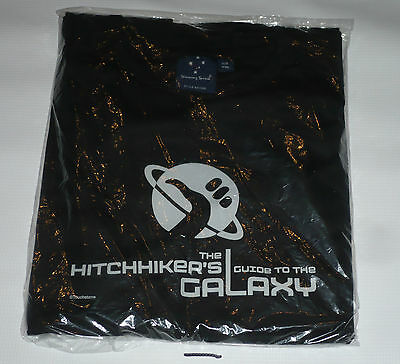 hitch Hikers Guide To The Galaxy Promo XXL T Shirt.