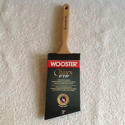 Wooster Chinex FTP  4410 3 inch paint brush