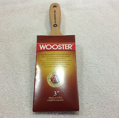 Wooster 3 inch Alpha 4234 paint brush