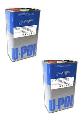 U-POL 1K CLEAR LACQUER HIGH GLOSS ACRYLIC 20-85 2 X 5lt NO THINNERS REQUIRED