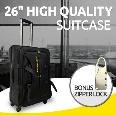 26 inch  Brand New Suitcase Travel Luggage with Zipper Lock