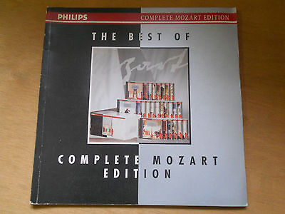 836D - The Best Of Complete Mozart Edition Philips