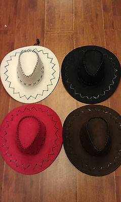 Fancy Cowboy/cowgirl hat /hats Party/costume