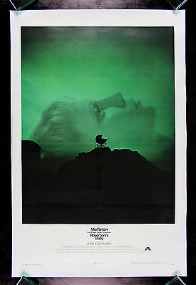 ROSEMARYS BABY * CineMasterpieces 1SH ORIGINAL MOVIE POSTER MIA FARROW HORROR