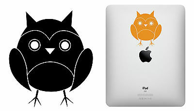Cut vinyl sticker OWL 10 x 8,5 cm Duration outdoors > 10 years