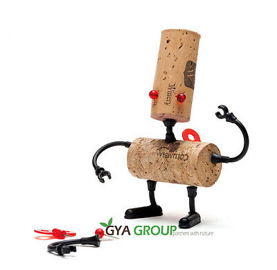 Corkers, Brand new designed wine cork Robots puzzle, Robot name is Luke