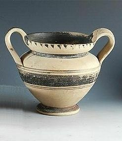 An Ancient Messapian Kantharos,  Italic Antiquities from Southern Italy