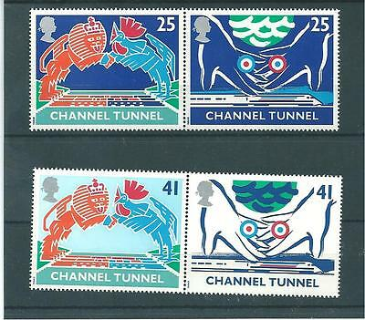 Channel Tunnel -A127-  1994 - Unmounted Mint Set