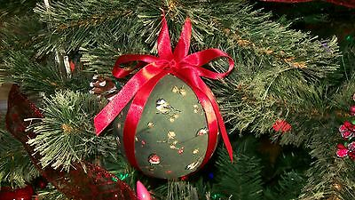 Set of 4 Christmas ornaments for tree