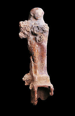 Aphrodite- Large Ancient Phoenician Pottery Votive Statue