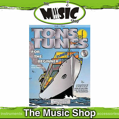 New Tons of Tunes for The Beginner Music Book for Flute/Oboe with CD